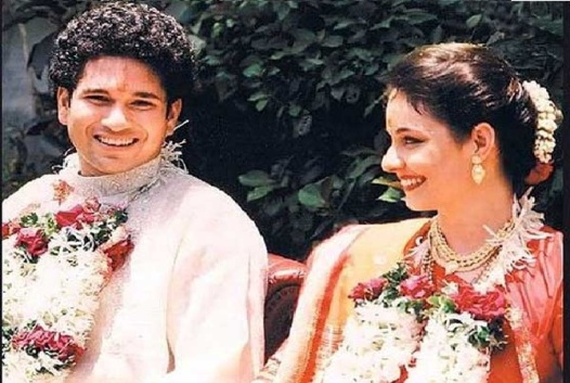 Sachin Tendulkar and Anjali - Wedding