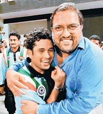 Sachin Tendulkar and Mark Mascarenhas