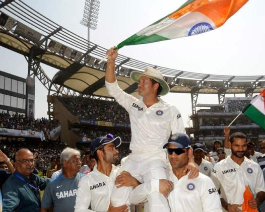 Sachin Tendulkar - Farewell (Source: sports.ndtv.com)