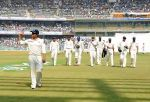 Sachin Tendulkar leading the Indian team on February 14, 2013. (Image - Cricinfo)