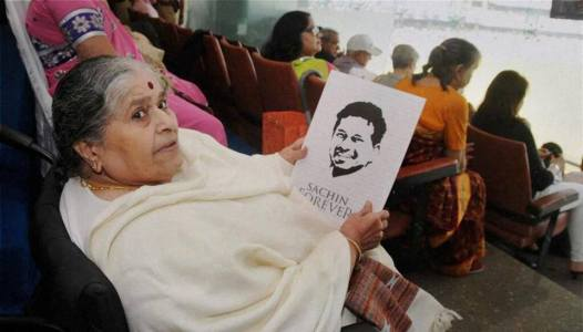 Sachin Tendulkar's Amma (Mother).