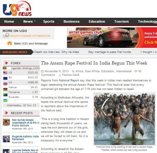 The Assam Rape Festival In India Begins This Week - news.ugo.co.ug
