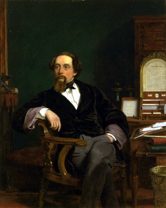 Charles Dickens by Frith (1859)