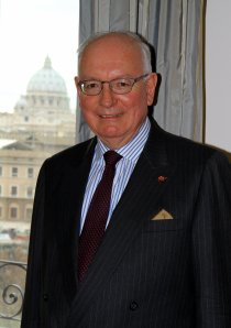 John McCarthy QC – Ambassador to The Holy See. (Photo:- Kerry Myers)