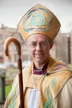 Justin Welby, the 105th Archbishop of Canterbury. (Photo courtesy Durham diocese)