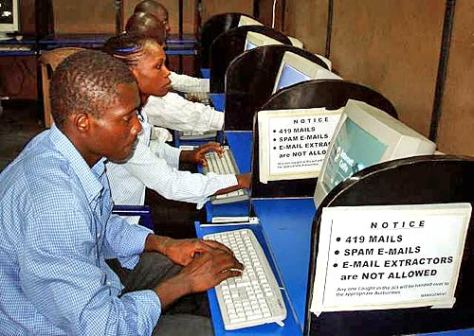 Nigerian Cyber Scammers (Source: http://antifraudintl.org/)