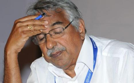 Oommen Chandy, Chief Minister of Kerala.