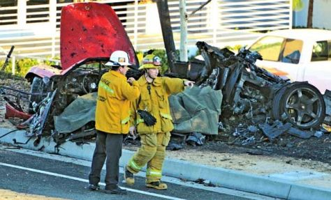 Paul Walker, the star of the 'Fast & Furious movie series, died Saturday in a car crash that killed one other person outside of Los Angeles. He was 40. (Source: Deccan Chronicle)