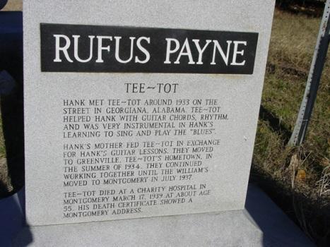 Rufus Payne Epitaph