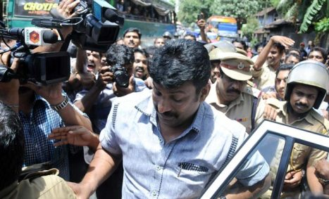 Salim Raj outside a court in Kozhikode (Source: indiatoday.intoday.in)