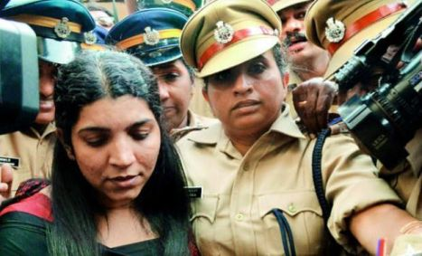 Saritha Nair brought to court (Source: deccanchronicle.com)