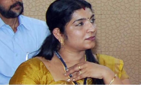 Saritha S. Nair (Photo: Indiavision)