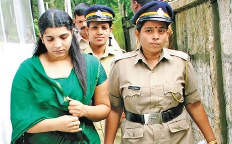Saritha Nair was arrested on June 3, 2013. (Express photo)