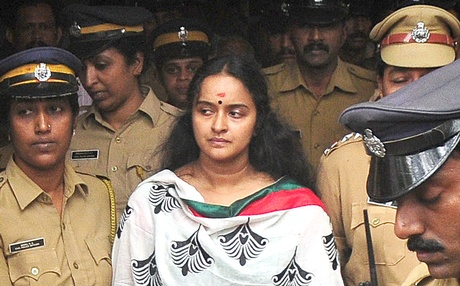 Shalu Menon was arrested on July 5, 2013, as the third accused in the Solar scam.  (Source: newindianexpress.com)