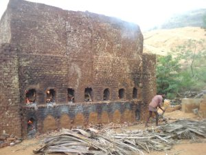 Brick Making -Firing (Source: indianjourneys.wordpress.com)