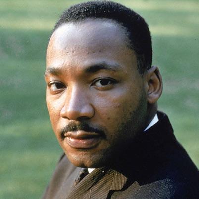 Martin Luther King Jr. (source: biography.com)