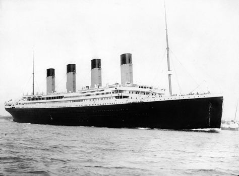 RMS Titanic departing Southampton on April 10, 1912. Author: F.G.O. Stuart (1843-1923)