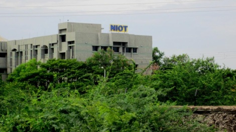 The National Institute of Ocean Technology (NIOT) (Photo credit: N. Lalitha and CR Sivapradha)