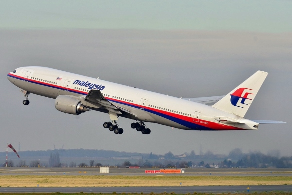 Boeing 777-200ER Malaysia AL (MAS) 9M-MRO, the missing aircraft (Source: Laurent ERRERA from L'Union, France)