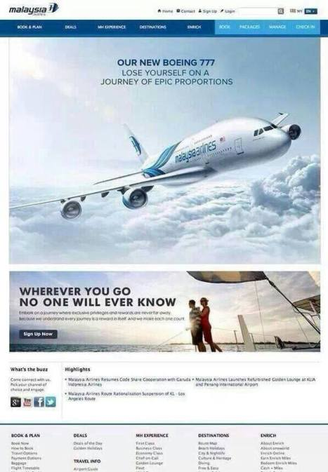 Boeing - Lose yourself on a journey.  The fake ad.