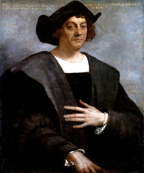 Christopher Columbus by Sebastiano del Piombo, 1519. (Metropolitan Museum of Art)