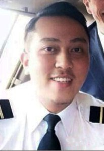 Fariq Abdul Hamid, First officer of the Malaysia Airlines Flight MH370.