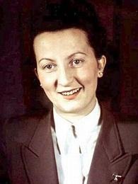 Gerda Christian - one of Hitler's private secretaries