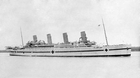 HMHS Britannic (Author: Allan Green, 1878 - 1954)