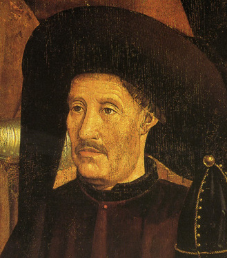 Infante Henry, Duke of Viseu aka Henry the Navigator (March 4, 1394 – November 13, 1460). (Source: From the Polytriptych of St. Vincent in the National Museum of Ancient Art, Lisbon).