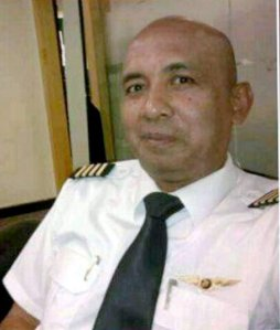 Captain Zaharie Ahmad Shah, pilot of the Malaysia Airlines Flight MH370