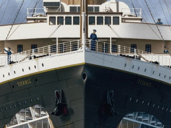 Titanic - A painting by Ken Marschall