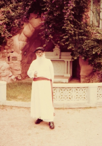 Rev. Fr. Moumas, S.J. (Photo taken in 1979 by T.V. Antony Raj)