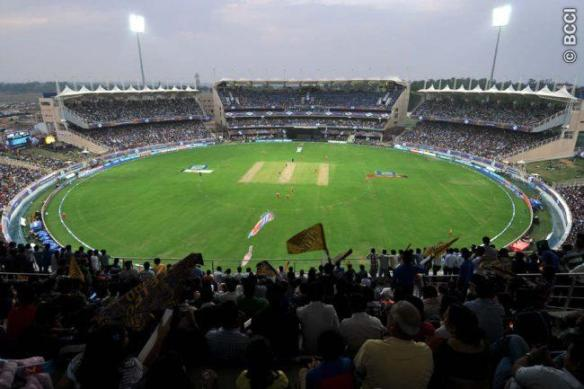JSCA International Stadium Complex, Ranchi, India.