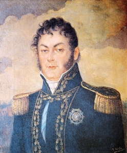 Juan Martín de Pueyrredón, 6th Supreme Director of the United Provinces of the Río de la Plata (Art by Rafael del Villar)