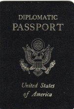 US Diplomatic Passport