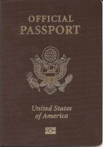 US official biometric passport