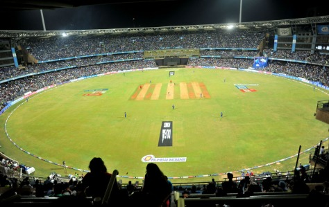 Wankhede Stadium, Mumbai (Photo by Sandeep Shetty/IPL/SPORTZPICS)
