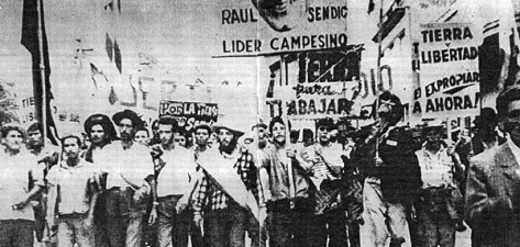 A demonstration by Tupamaros