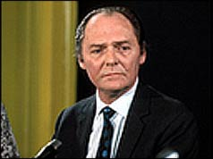 Sir Geoffrey Holt Seymour Jackson KCMG, at a news conference in London on September 11, 1971 (Source: news.bbc.co.uk)