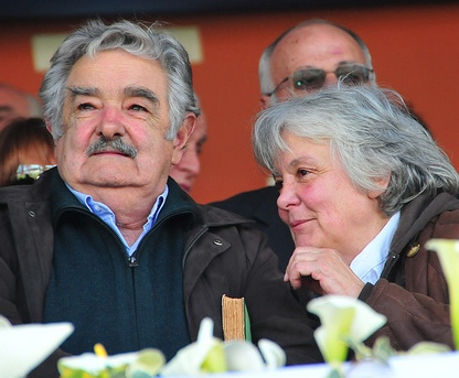 Jose Mujica and his wife Lucia Topolansky (Source: nsnbc.me)
