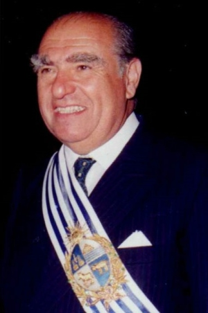 Julio María Sanguinetti Coirolo - President of Uruguay from March 1985 until March 1990, and again, from March 1995 until March 2000.