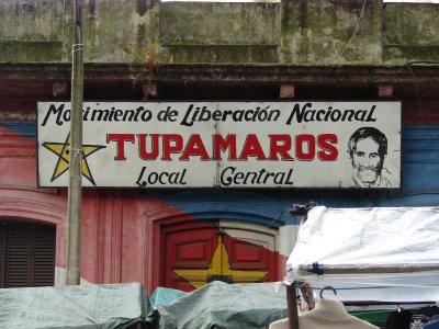 Tupamaros Signboard