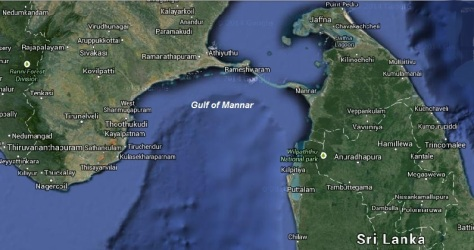 Gulf of Mannar (satellite image)