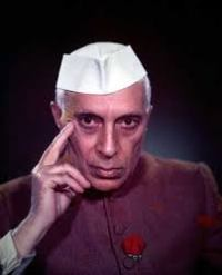 Jawaharlal Nehru, the first Prime Minister of India.