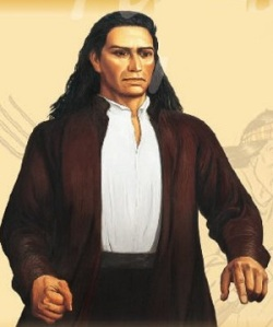 José Gabriel Túpac Amaru or José Gabriel Condorcanqui Noguera, later known as Túpac Amaru II (Source: deperu.com)