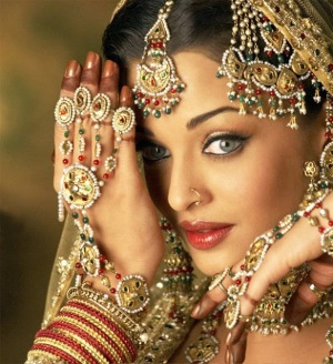 Maintain her beauty like Goddess Lakshmi (and show it to him only and not to other males).