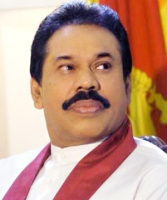 Mahinda Rajapaksa, President of Sri anka. (Source - ips.lk)