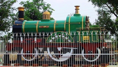 Replica of Jenny Lind in Roorkee (Courtesy of Kota Shivaranjan/Flickr gallery of travel photos)