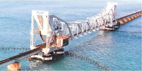 The Pamban bridge after restoration (Source: the hindu.com)