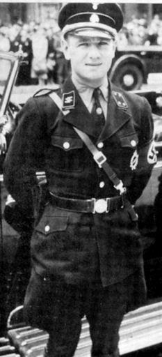 SS-Obersturmbannführer Erich Kempka - Hitler's personal chauffeur